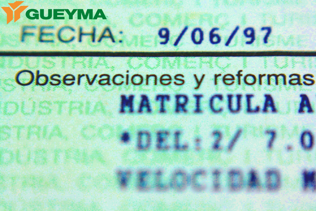 Documentacion carretilla matriculada